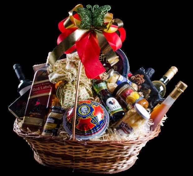 A cesta Gran Reserva vem com dois tipos de vinho. Foto: Executiva/Divulgação