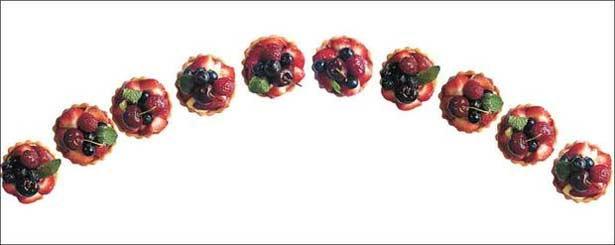 A sobremesa pode ser feita com antecedência e guardada para o dia. Foto: Marcos Michelin/EM/D.A Press