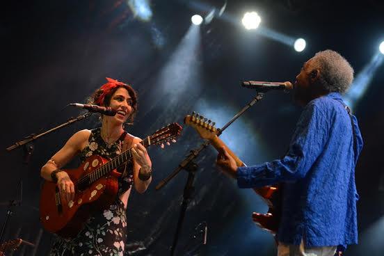 Marisa Monte e Gilberto Gil apresentaram show exclusivo para o festival. Foto: Luiz Fabiano/Moove Comunicação