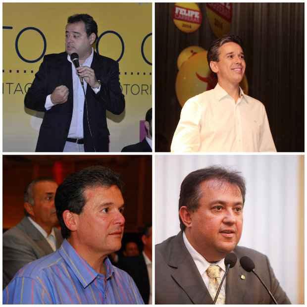 Os deputados federais eleitos Danilo Cabral, Felipe Carreras, André de Paula e Sebastião Araújo vão integrar o governo de Paulo Câmara