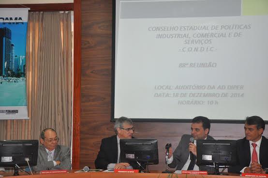 Reunião foi comandada pelo secretário de desenvolvimento econômico, Márcio Stefanni Monteiro. Foto: AD Diper/Divulgação