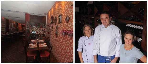 (Ambiente aconchegante em sobrado do século 17. Chef Zagueiro entrou na equipe que já contava com a chef Cida Canto e a empresária Mônica Tenório)