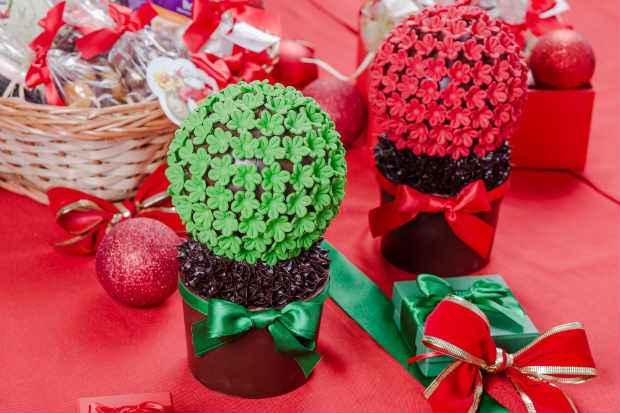 Anna Corinna também elaborou doces natalinos. Foto: Andre Nogueira/Divulgacao