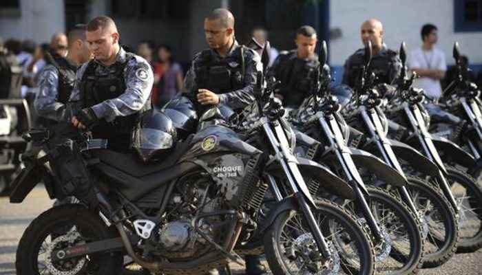 Policiais do Batalhão de Choque da PM participaram do curso de controle de distúrbios civis. Arquivo/Agência Brasil