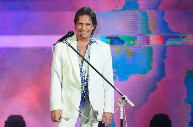 Rei apresentou especial na TV no dia 23 de dezembro. Crédito: João Cotta/TV Globo/Divulgação