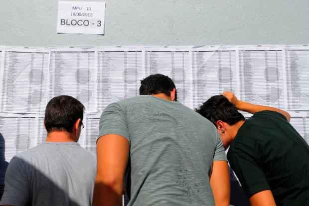 Órgãos federais de grande porte, como Banco do Brasil e Petrobras, já lançaram edital, com provas marcadas para março. Foto: Janine Moraes/CB/D.A Press