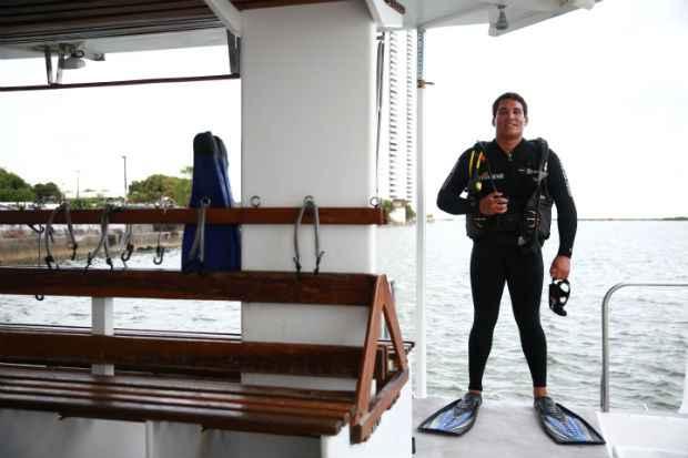 Novas regras para o mergulho de turismo e lazer listam pelo menos 16 equipamentos indicados para a prática. Foto: Bernardo Dantas/DP/D.A Press