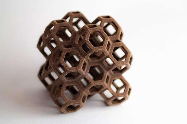Nova impressora #D permite que chocolate seja fabricado em qualquer formato. Foto: Divulgação