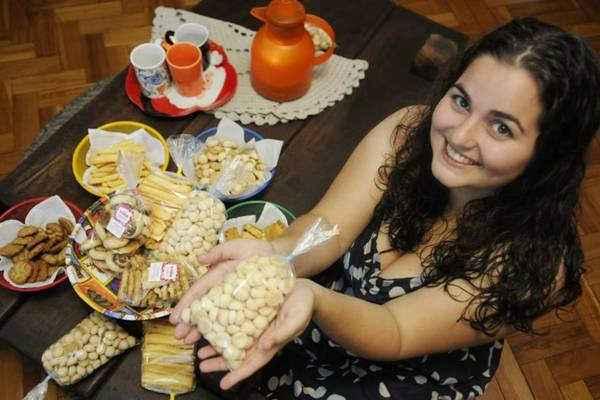 Rebeca Tscheidel resgatou receitas familiares e incluiu opções mais contemporâneas. Foto: Bruno Peres/CB/D. A Press