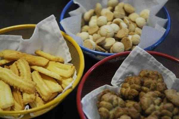 Os biscoitinhos podem ser servidos no lanche. Foto: Bruno Peres/CB/D. A Press