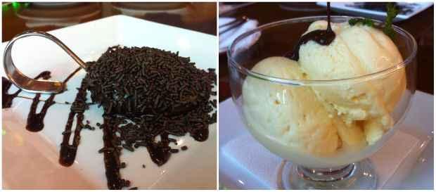 A sobremesa pode ser uma bola de sorvete ou o brigadeiro de colher. Foto: Vitória Maciel/Esp. DP/D. A Press