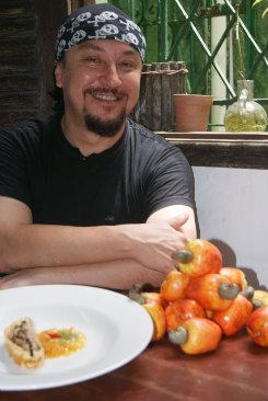 O croata Cláudio Kovacic trabalha com menu degustação. Foto: Arthur de Souza/Esp. DP/D. A Press