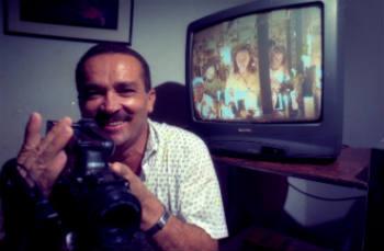 """Elias queria registrar a importância de """"Central do Brasil"""" para a comunidade. Crédito: Dorival Elze/DP/D.A Press/Arquivo"""