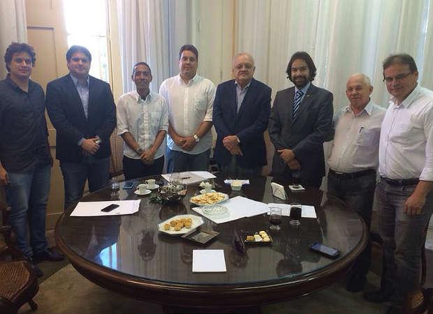 Uchoa, Moraes e Labanca receberam apoio dos novos deputados (Divulgação)