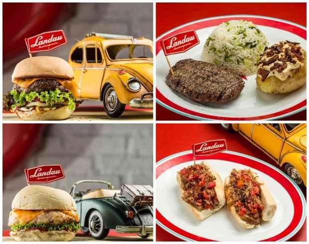 V8, Aerowyllis e Fusca: sanduíches levam nome de clássicos sobre quatro rodas