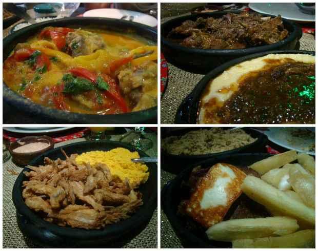 Carizada, Guisado com xerém, Pititinga e Carne de sol com coalho estão entre os mais pedidos