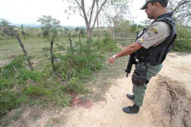 Vítimas foram executadas a tiros dentro de um carro do Conselho Tutelar de Poção (Annaclarice Almeida/DP/D.A.Press)