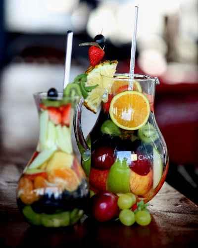 Drinque de frutas é opção de bebida refrescante. Foto: Teresa Maia/DP/D.A Press