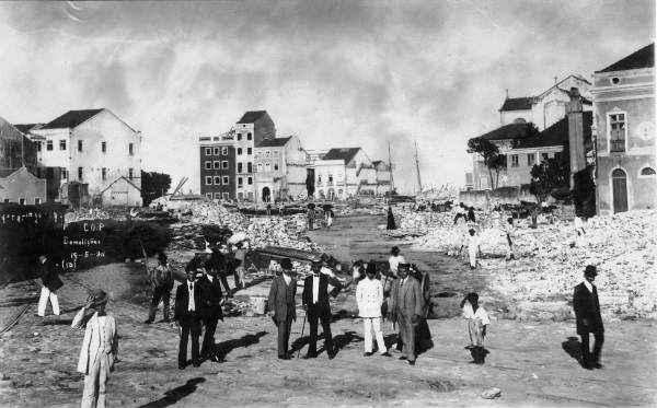 O cenário da série fará uma releitura do Recife do século passado - Foto: Museu da Cidade do Recife/Divulgação (Museu da Cidade do Recife/Divulgação)