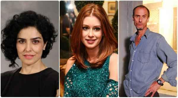 Letícia Sabatella, Marina Ruy Barbosa e Aramis Trindade estão entre os atores do elenco - Fotos: TV Globo e Manuela Scarpa/Divulgação  (Fotos: TV Globo e Manuela Scarpa/Divulgação)