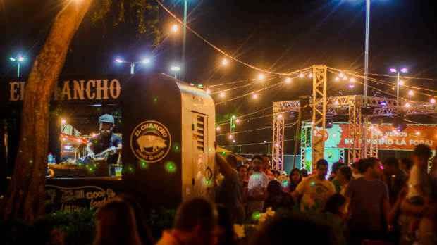 A feira será realizada em um ampla estrutura montada a céu aberto. Foto: Baladeira Inovacoes/Divulgação