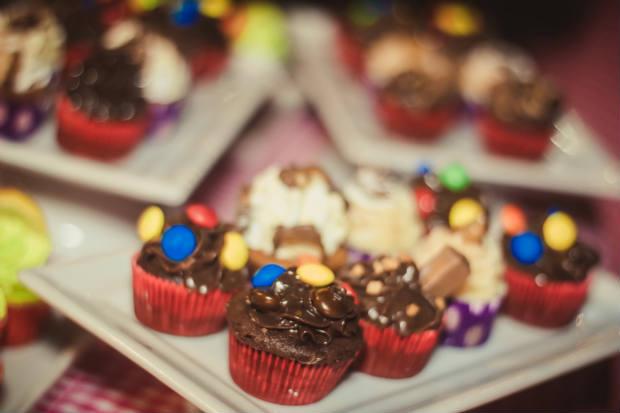 A Miss Sweets marca presença com seus cupcakes e brigadeiros. Foto: Baladeira Inovacoes/Divulgacao