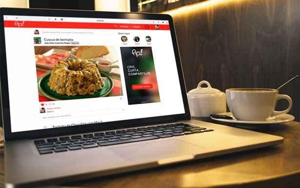 A plataforma foi criada por um grupo de catarinenses, e tem como objetivo fazer com que as pessoas encontrem, organizem e guardem suas receitas culinárias. Foto: Pip/Divulgação