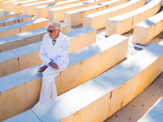 Evangelista é inventor popular. Foto: Álvaro Severo/divulgação