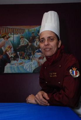 Chef pernambucana Meiga Von Liebig, do Château Brillant, prepara menu com seis etapas. Foto: Alexandre Gondim/DP/D. A Press