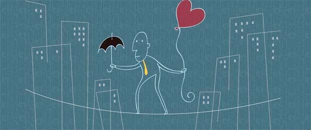 """""""A forma como eu me percebo em relação ao mundo pode gerar pensamentos distorcidos, e estes geram emoções negativas que certamente afetarão negativamente o equilíbrio emocional que é necessário para construirmos relacionamentos saudáveis"""", Monike Gouveia, psicóloga. Ilustração: Samuca/DP/D.A Press"""