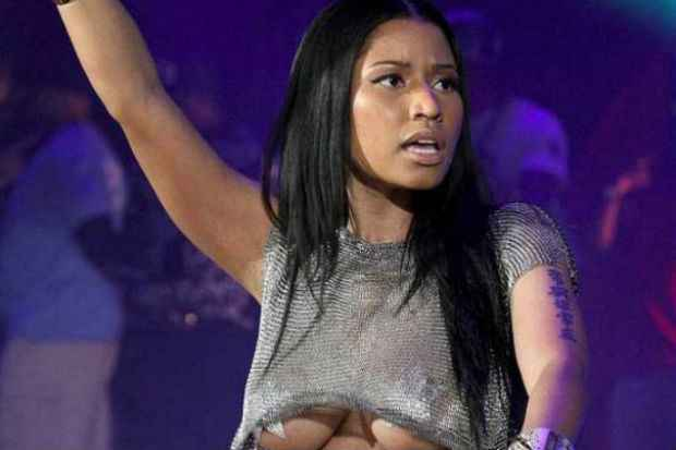 Nicki Minaj segue a moda nas redes sociais. Foto:Instagram/Reprodução
