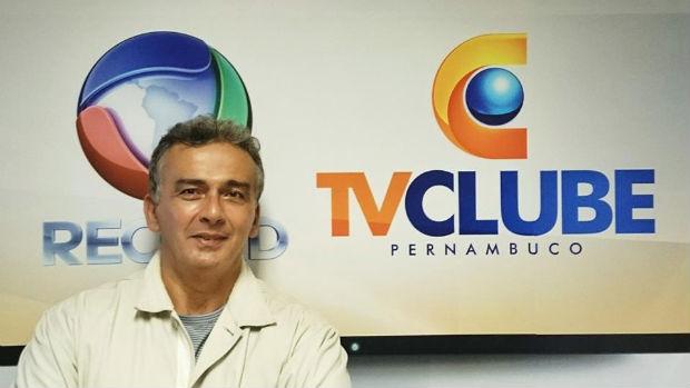 Hugo Esteves é o novo apresentador da TV Clube/Record. Foto: DP Produção