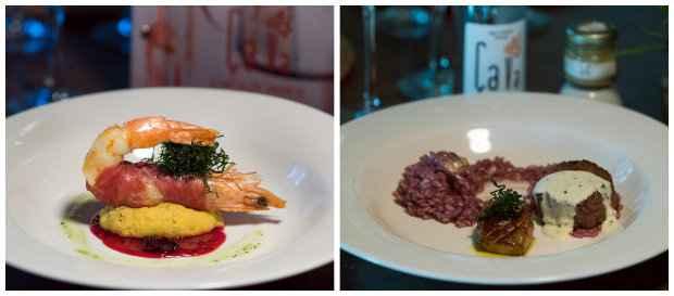 Crevette Parme e Mingnon Foie farão parte do menu especial da noite. Foto: Paulo Higor Nunes/ Divulgação