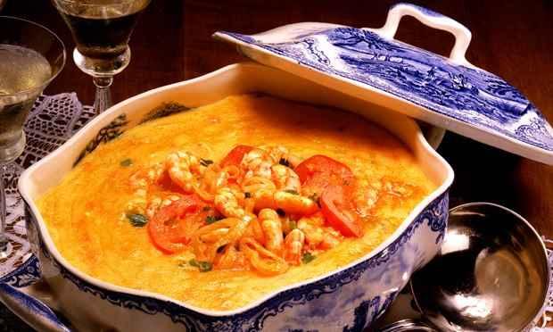 Chef's a Domicílio sugerem o tradicional Bobó de camarão. Foto: Facebook/ Reprodução