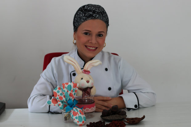 Doceira Mariana Parini tem uma linha completa para celíacos. Foto: Tatiana Sotero/DP/ D.A Press