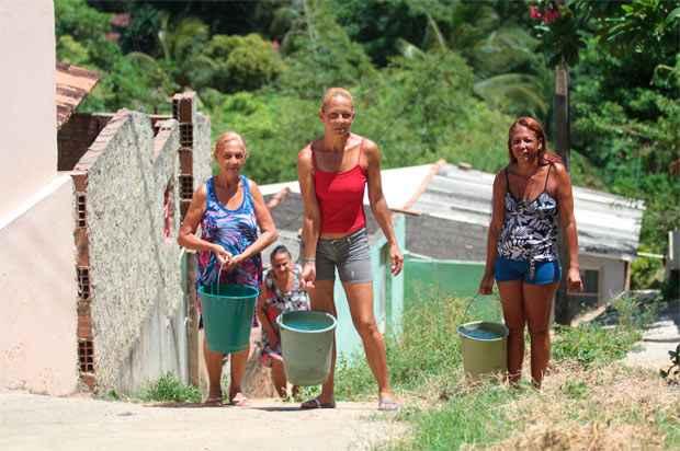 """""""Estamos em um momento em que a água que guardávamos não está dando mais para o que consumimos"""", alerta ex-secretário de recursos hídricos. Foto: Annaclarice Almeida/DP/D.A Press"""