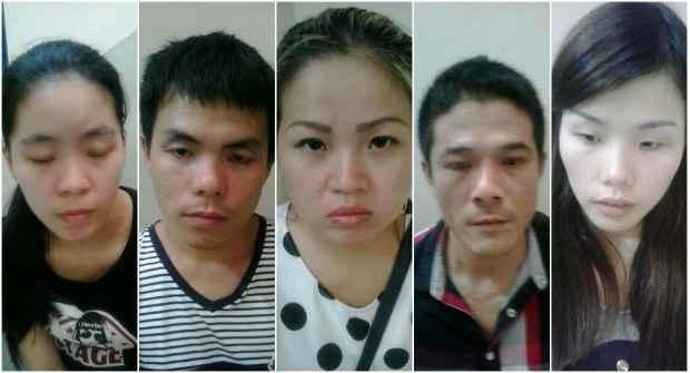 Os cinco chineses foram presos durante a operação Esforço Geral III, da Polícia Civil de Pernambuco. (Polícia Civil/Divulgação)