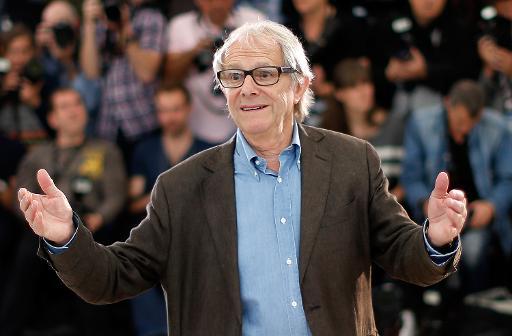 O diretor de cinema britânico Ken Loach, em Cannes. Foto: Valery Hache /AFP Photo