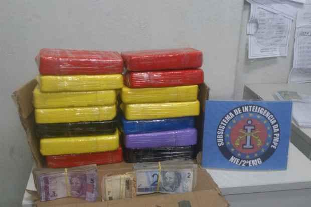 Irmãos são suspeitos de participar do tráfico de drogas em Igarassu. (Foto:PMPE/Divulgação)