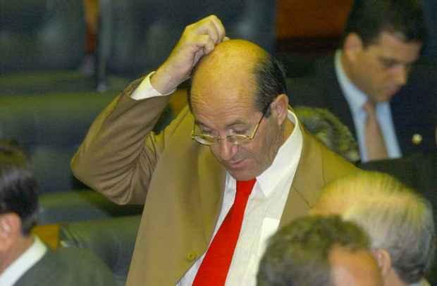 Deputado Wasny de Roube é mais um do time dos carecas. Foto: José Varela/CB/D.A Press.