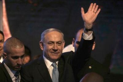 Benjamin Netanyahu em 17 de março de 2015 em Tel Aviv. Foto: © AFP/Arquivos MENAHEM KAHANA