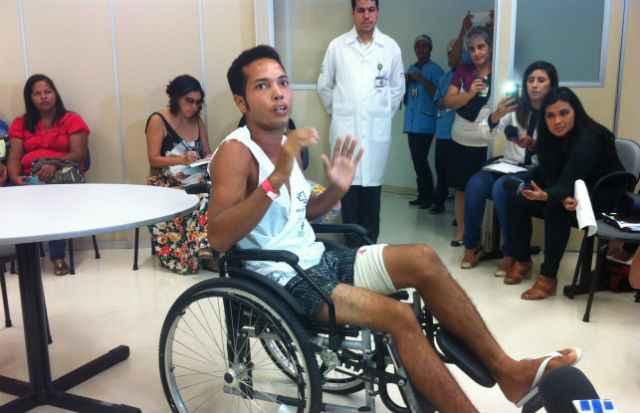 O surfista também deve voltar a ser ouvido pelos especialistas.. Foto: Wagner Oliveira/ DP/ DA Press