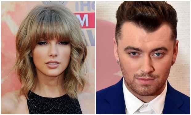 Taylor Swift e Sam Smith disputam em quatro categorias. Foto: Valerie Macon/AFP Photo/Leon Neal/AFP Photo