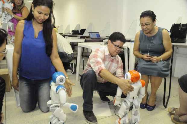 Vinte e sete professores passaram por formação especial para projeto. Foto: Carlos Augusto/PCR