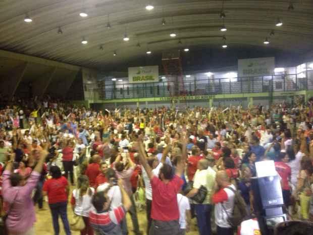 Decisão foi tomada em assembleia no Clube Português. Foto: Anamaria Nascimento/DP/D.A Press