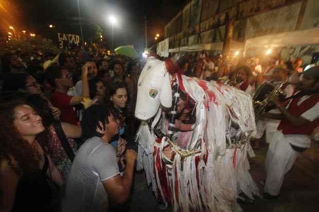 O evento também contou com apresentações de atrações da cultura popular. Foto: Ricardo Fernandes/DP/D.A Press