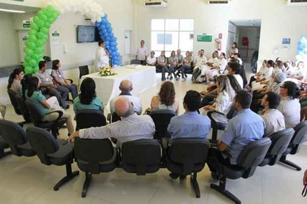 Data foi comemorada com bolo e missa na instituição. (Foto: Prefeitura Municipal de Salgueiro / Divulgação)