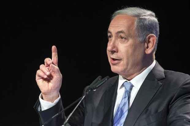 O primeiro-ministro israelense Benjamin Netanyahu, no dia 13 de abril de 2015, em Beit Shemesh. Foto: Jack Guez/AFP