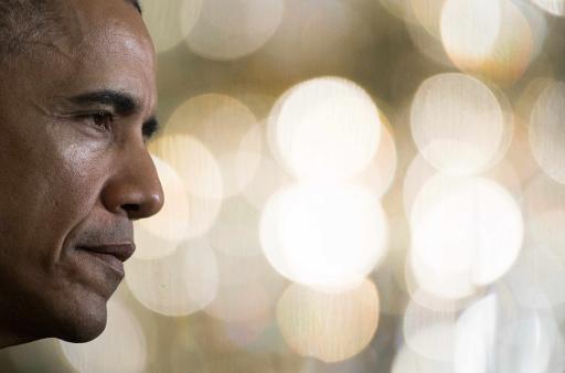 (O presidente americano Barack Obama, em Washington, DC, no dia 17 de abril de 2015. Foto: AFP/ JIM WATSON )