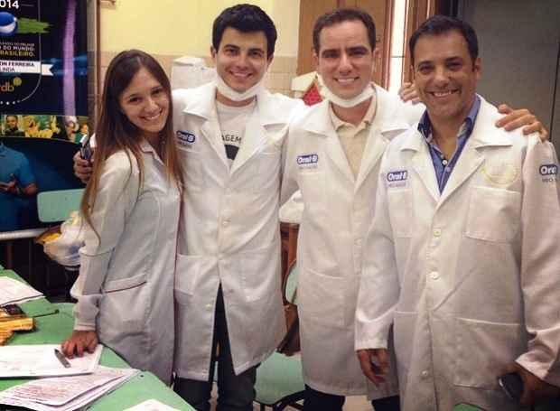 Mariana Peres, Cleferson Ferreira, Paulo Henrique Basto e Robson Queiroz são os coordenadores da edição Recife. Foto: Turma do Bem/Divulgação